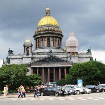 São Petersburgo: Catedral de São Isaac