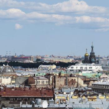 São Petersburgo: Vista Panorâmica da Catedral de São Isaac
