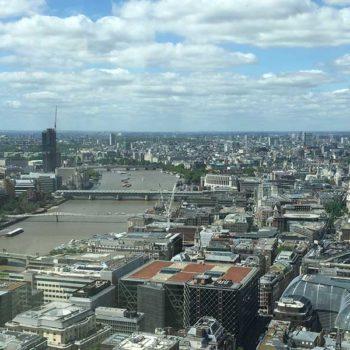 vista com o Rio Thames