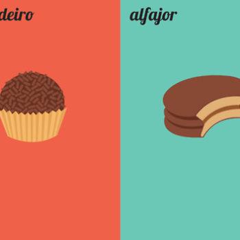SP vs BA: Sobremesas
