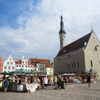 Praça Principal de Tallinn
