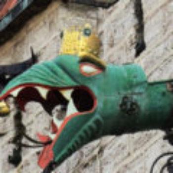 Detalhe da Prefeitura de Tallinn