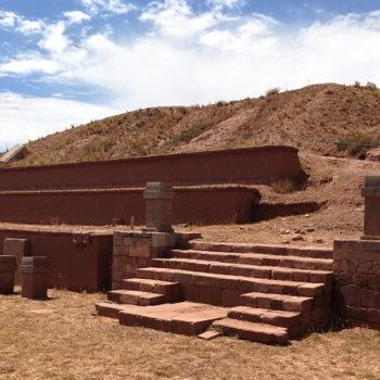 Tiwanacu: Pirâmide