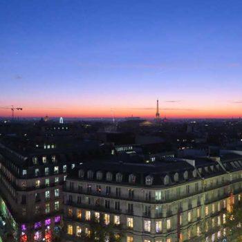 Vista da Galeria Laffayette