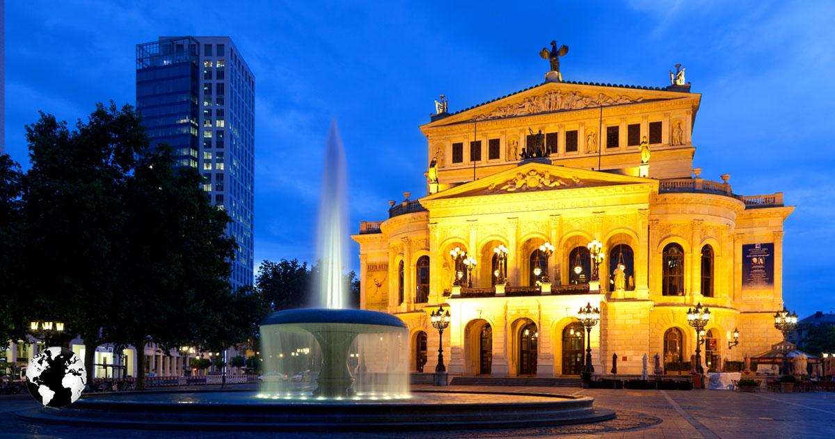 Alter Oper, Frankfurt, Alemanha.