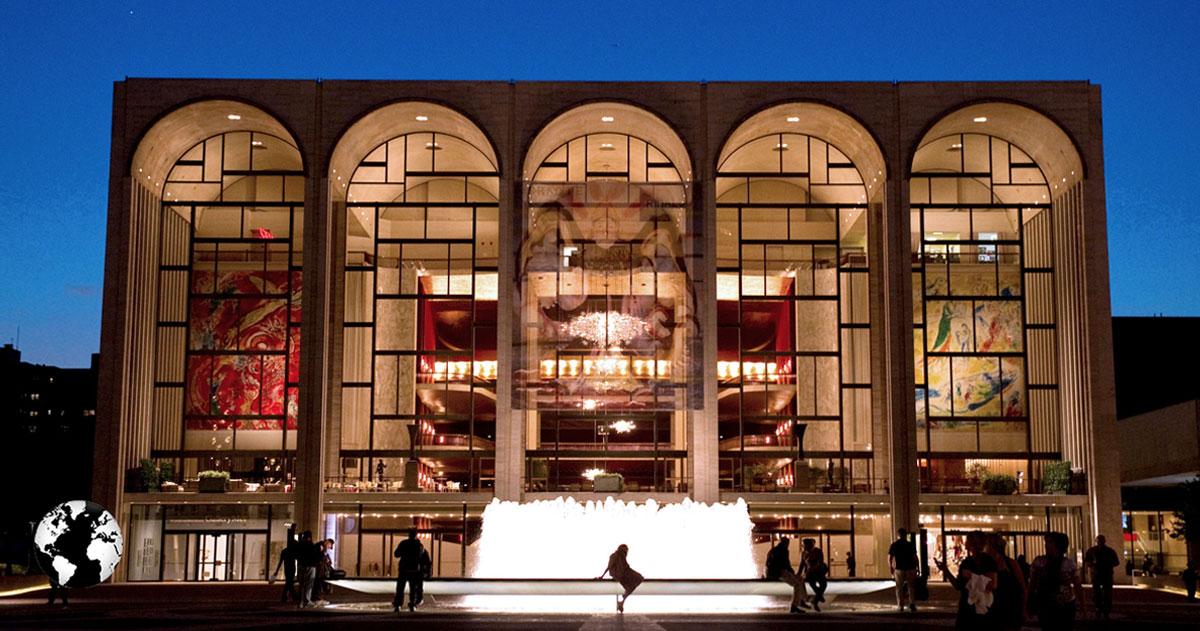 Metropolitan Opera House, Nova York, Estados Unidos.