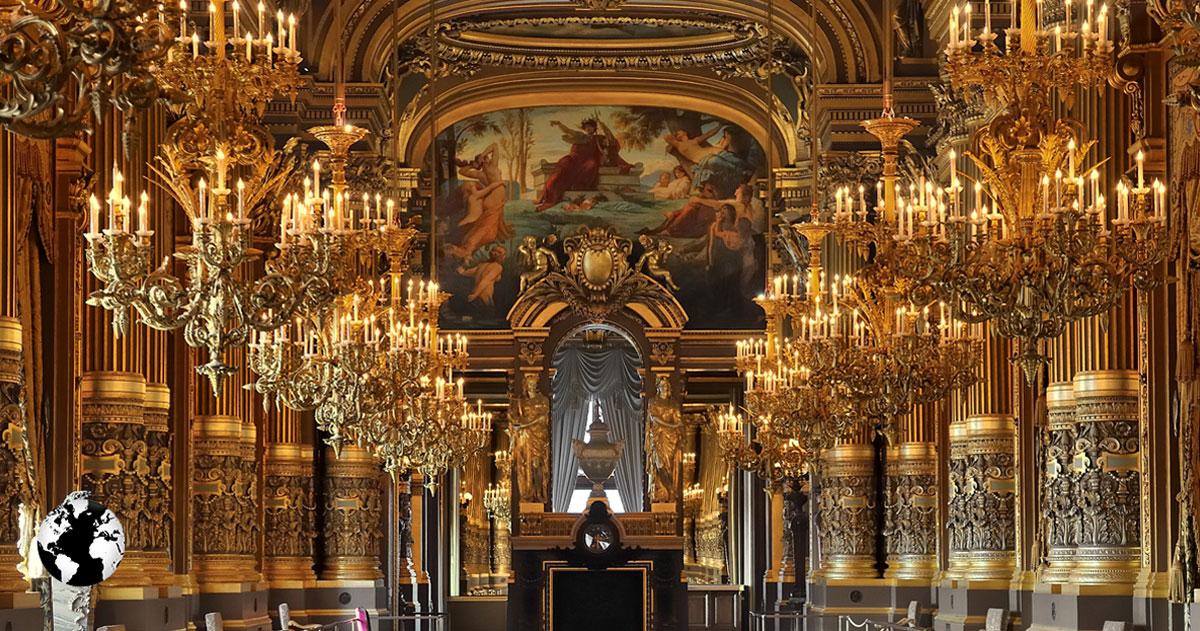 Palais Garnier, Paris, França.