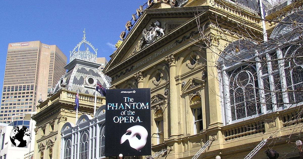 Princess Theatre, Melbourne, Austrália.