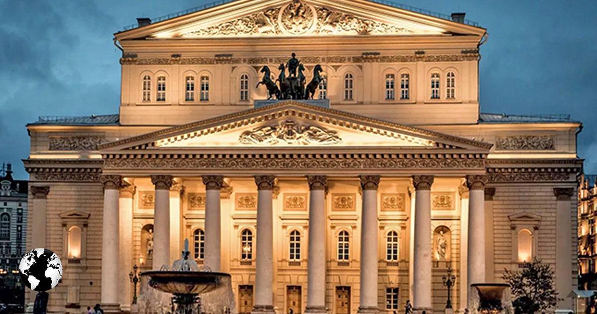Teatro Bolshoi, Moscou, Rússia.