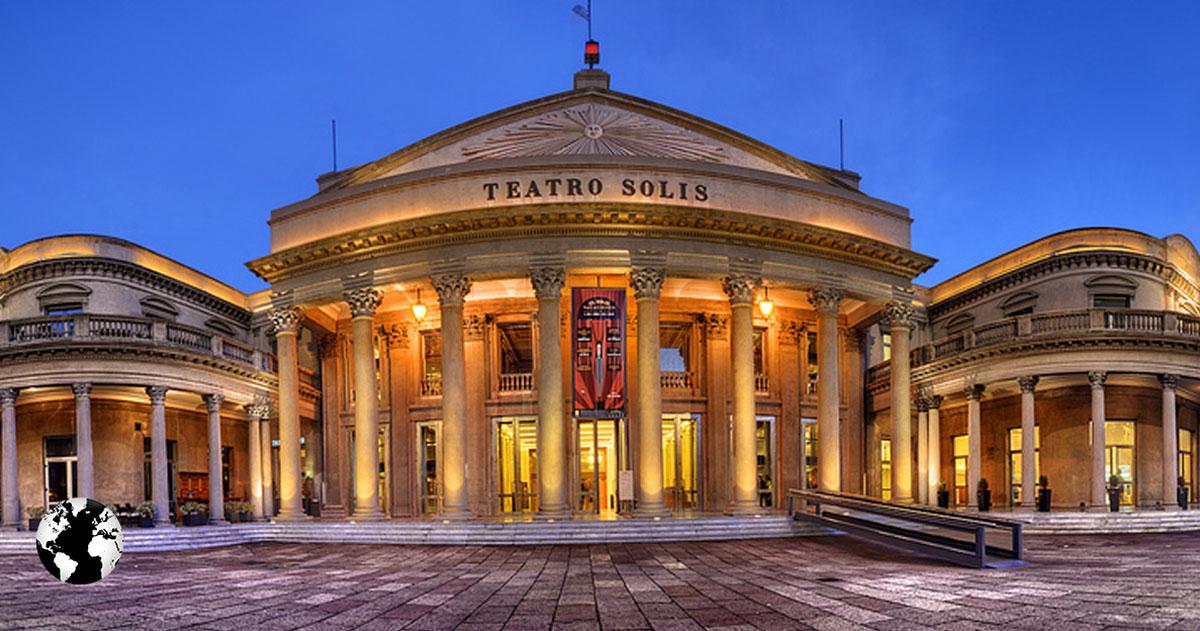 Teatro Solís, Montevidéu, Uruguay.