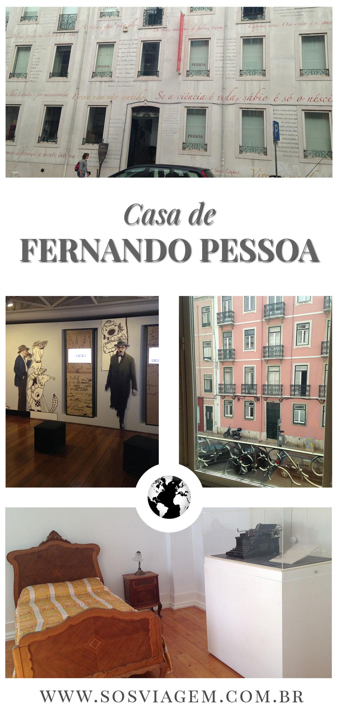 Casa de Fernando Pessoa.