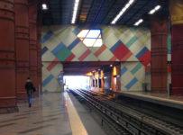 Metrô de Lisboa.