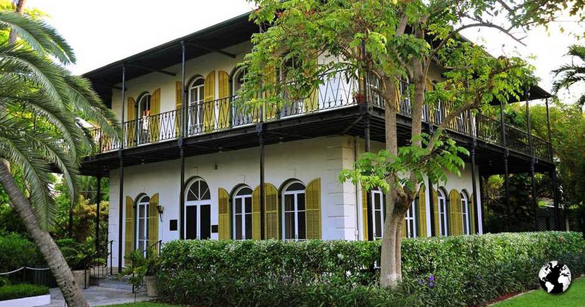 Casa de Hemingway.