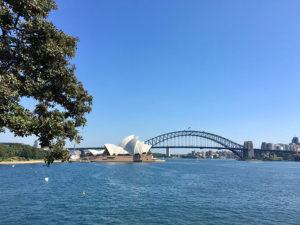 Opera House e Harbour Bridge.